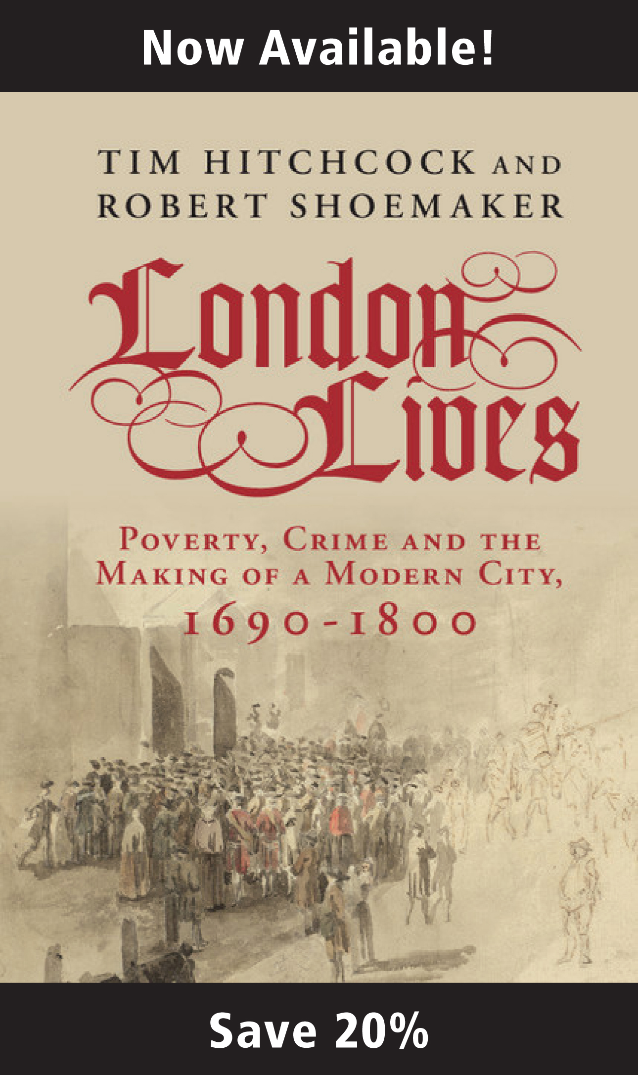 London Lives book flyer