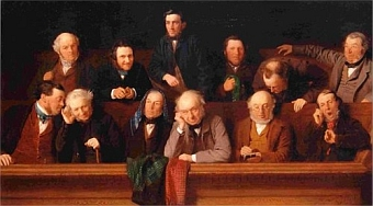 The Jury, John Morgan (1861)